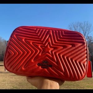 Coach Marvel Jes Red Comic Star Quilting C…